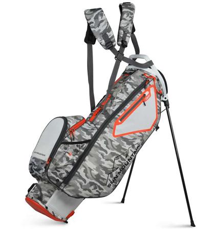 2021 Sun Mountain 3.5 LS Stand Bag White/Gray/Camo/Inferno