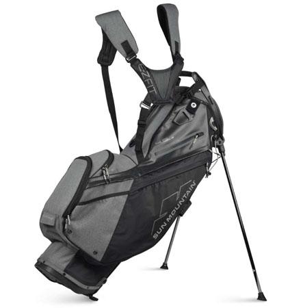 2021 Sun Mountain 4.5 LS 14-WAY Stand Bag Black/Carbon