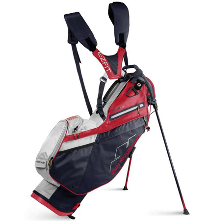 2022 Sun Mountain 4.5 LS Stand Bag Navy/White/Red