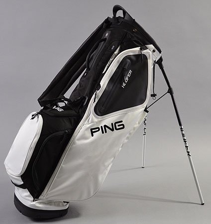 2018 Ping Hoofer White/Black Limited Color Single Strap