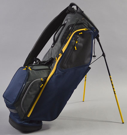 2018 Ping Hoofer Navy/Graphite/Yellow Limited Color Single Strap W/O Ping Logos
