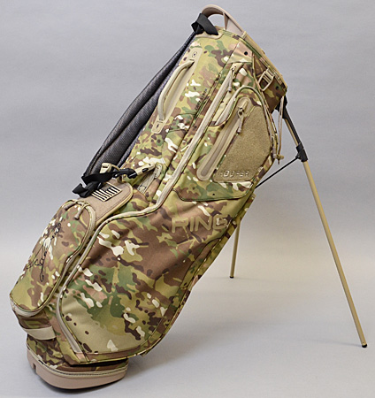 2020 PING Hoofer Multicam Custom Single Strap & Mr. PING Logo