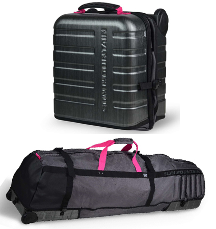 Sun Mountain Kube Travel Cover Graphite-Pink
