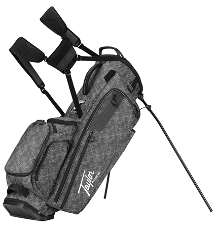 2018 TaylorMade FlexTech Lifestyle Stand Bag  Canvas