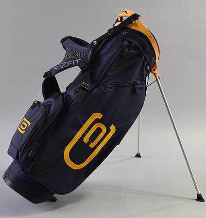 excors Stand Bag Navy/Yellow