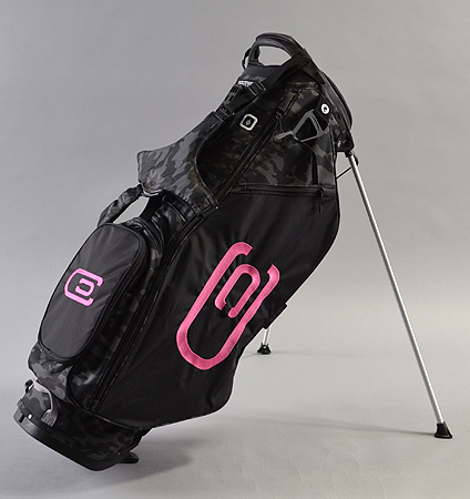 excors Stand Bag Black/Camo/Pink