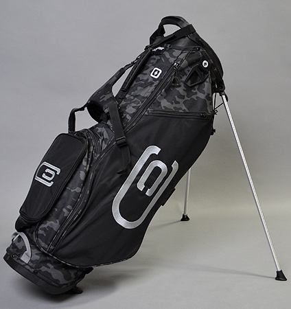 excors Stand Bag Black/Camo/Silver