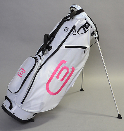 excors Stand Bag White/Pink