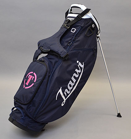 Tranvi Stand Bag Navy/White/Pink
