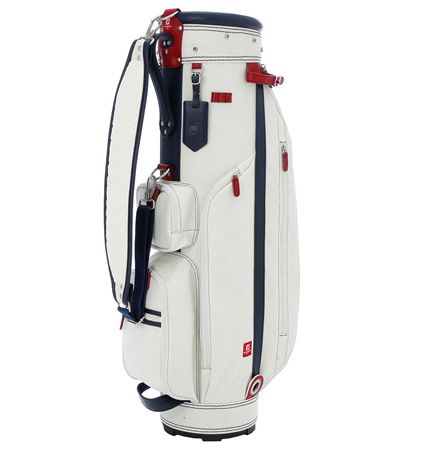 FJ Joy for the Season Golf Bag White