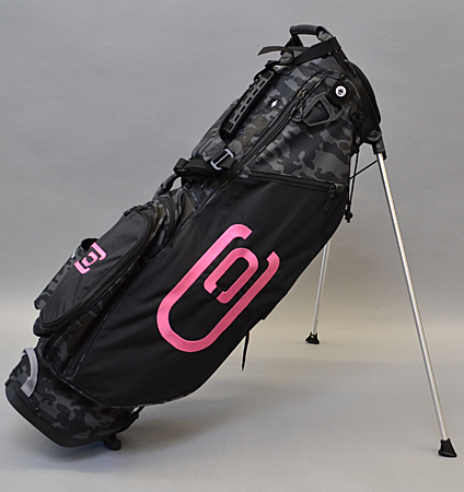 2020 excors Stand Bag Black/Camo/Pink
