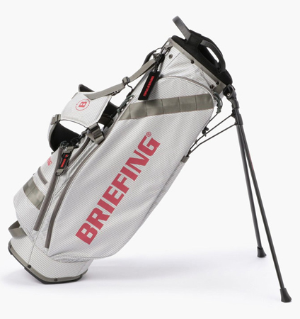BRIEFING CR-7 STAND BAG WHITE