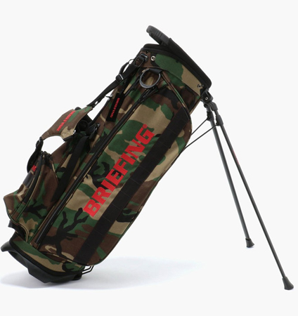 BRIEFING CR-4 #02 STAND BAG WOODLAND CAMO