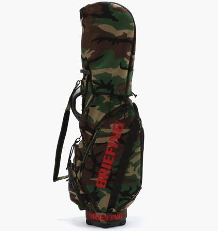BRIEFING CR-5 #02 CART BAG WOODLAND CAMO