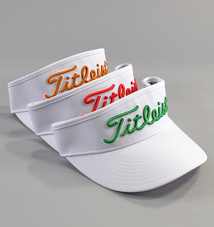 2018 Titleist Tour Visor White Collection
