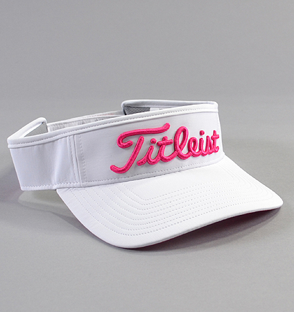 2018 Titleist Pink Out Collection Tour Performance Visor Limited Model