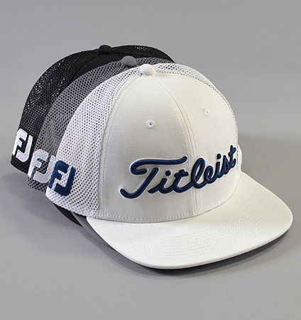 Titleist Tour Flat Bill Mesh Cap Legacy Collection