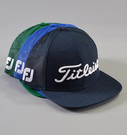 Titleist Tour Flat Bill Mesh Cap Trend Collection