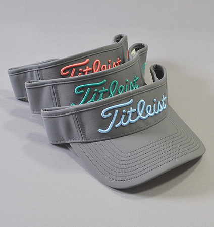 Titleist Tour Performance Visor Charcoal Collection