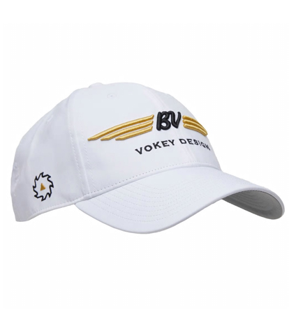 BV Wings Tour Performance Cap White/Gold/Black