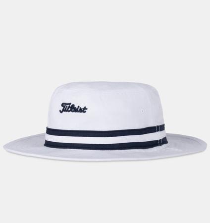Titleist Cotton Stripe Bucket White/Navy