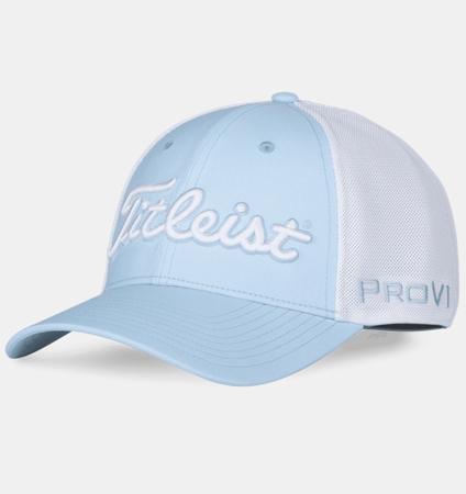 Titleist Tour Sports Mesh Cap Sky/White