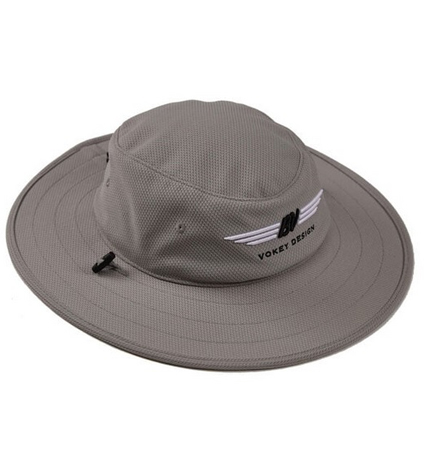 BV Wings Aussie Hat Grey/Black/White