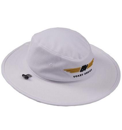 BV Wings Aussie Hat White/Black/Gold
