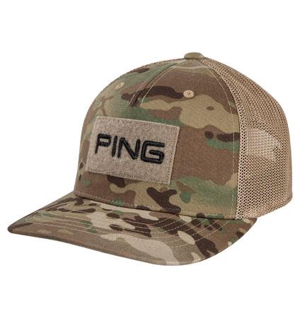 PING Multicam Cap