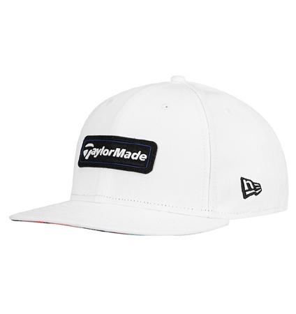 TaylorMade New Era 9Fifty SnapBack Hat White/Blue