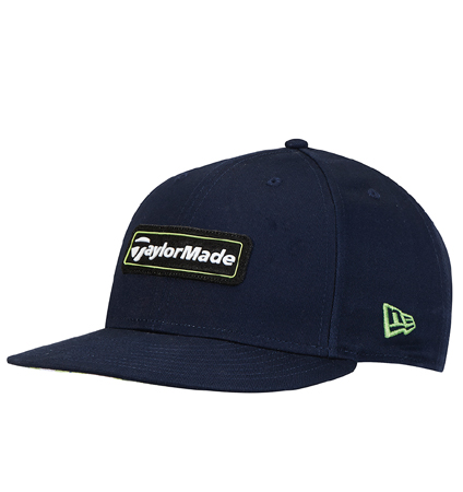 TaylorMade New Era 9Fifty SnapBack Hat Navy/Green