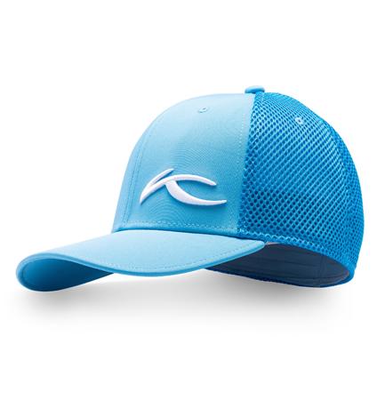 KJUS UNISEX 3D MESH CAP AQUA BLUE