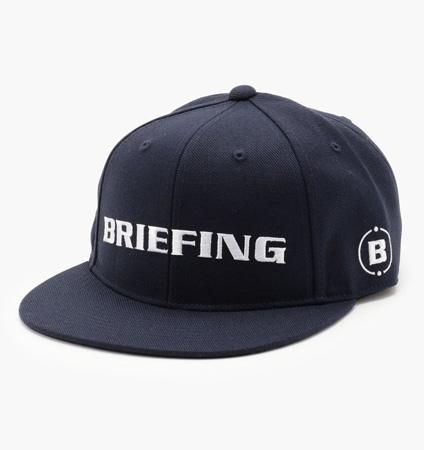 BRIEFING  BASIC CURVED VISOR CAP NAVY
