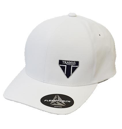 Tranvi Flexfit Delta Adjustable Cap White