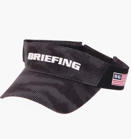 BRIEFING MENS DIGITAL CAMO VISOR BLACK