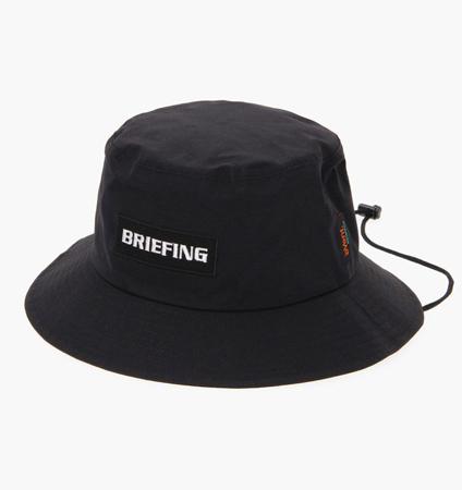 BRIEFING MENS EVENT RAIN HAT BLACK