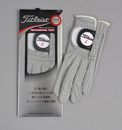 2016 Titleist Professional Tech Glove Gray
