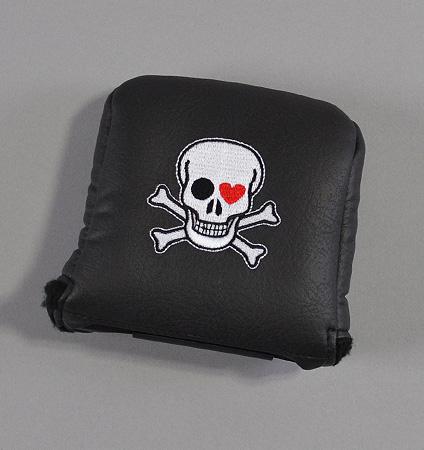 AM&E Skull Universal Large Mallet Putter Cover