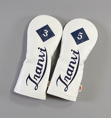 AM&E Tranvi Fairway Headcover White/Navy