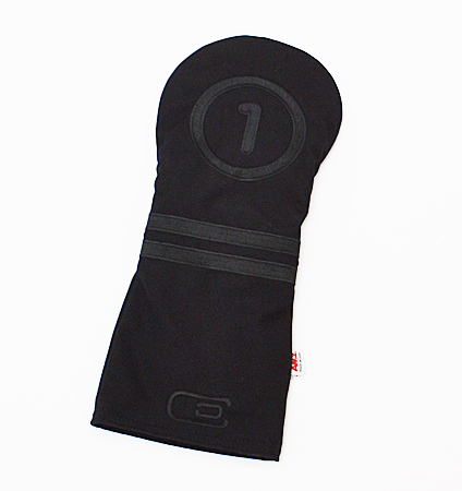 AM&E excors Original Tech Canvas Stripe Driver Headcover Blackout