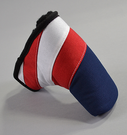 """Rose&Fire Red, White, and Blue """"Freedom"""" USA  Standard Putter Cover"""