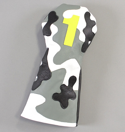 RMG Camo Leather Driver Headcover