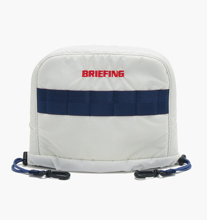 BRIEFING IRON COVER RIP WHITE