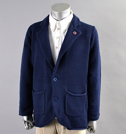 SubSeventy AS11003 Knit Jacket Navy