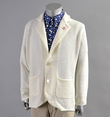 SubSeventy AS11003 Knit Jacket White