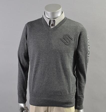 2018 SubSeventy AS11007 Basic Logo Sweater Gray