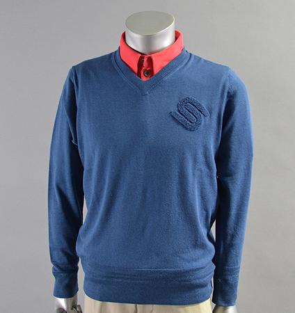 2018 SubSeventy AS11007 Basic Logo Sweater Blue