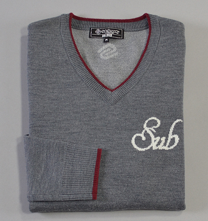2018 SubSeventy AS11008 Sub Logo Sweater Gray