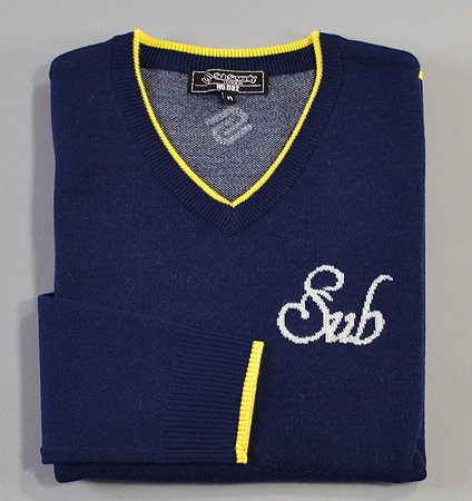 2018 SubSeventy AS11008 Sub Logo Sweater Navy