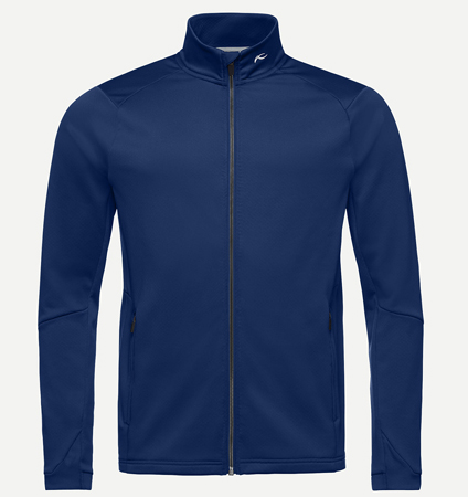 KJUS MEN DIAMOND FLEECE JACKET NIGHT BLUE